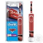 Электрическая зубная щетка Oral-B Stages Тачки детская с 3-х лет