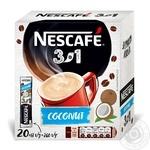 Напиток кофейный Nescafe 3в1 Coconut mix растворимый в стиках 20*13г
