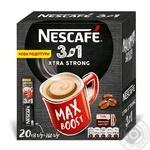 Напиток кофейный Nescafe 3в1 Xtra strong растворимый в стиках 20*13г