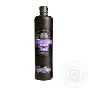 Бальзам Riga Black Balsam Currant 0,7л - купити, ціни на МегаМаркет - фото 1