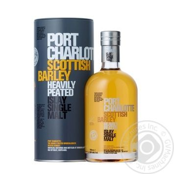 Port Charlotte Scottish Barley Whiskey 50% 0,7l - buy, prices for Novus - image 1