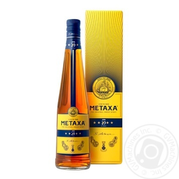 Metaxa 5* Brandy 38% 0,7l - buy, prices for Novus - image 1