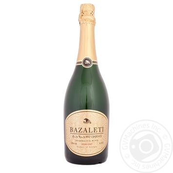Bazalet white semi-dry sparkling wine 12% 0.75l - buy, prices for Novus - image 2