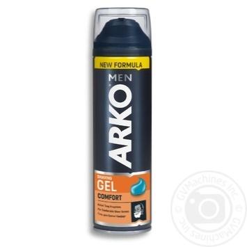 Гель для бритья Arko Макс комфорт 200мл - купить, цены на МегаМаркет - фото 1