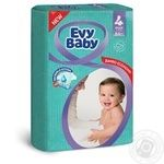 Підгузки Evy Baby Максі Джамбо 7-18кг 64шт