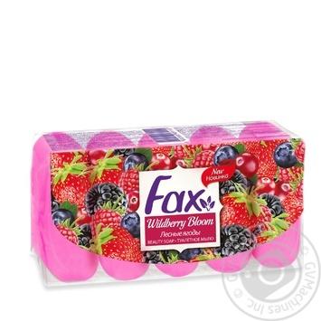 Мило Fax Лісові ягоди 5x70г - купити, ціни на Ашан - фото 1