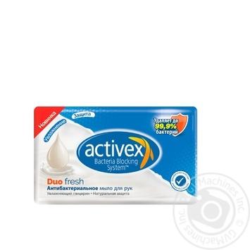 Мыло Activex Duo Fresh антибактериальное 120г - купить, цены на Novus - фото 1