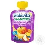 Puree Bebivita blueberry for children from 12 months 90g