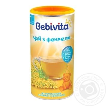 Чай Bebivita из фенхеля сухой быстрорастворимый для детей с 1 недели 200г