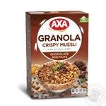 Axa with chocolate and nuts honey muesli 375g