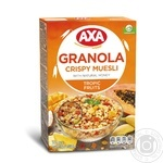 АХА Granola Tropic Fruits With Tropical Fruit Honey Muesli 375g - buy, prices for MegaMarket - image 1