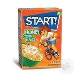 Сухие завтраки Start! зерновые хлопья кукурузные медовые 280г