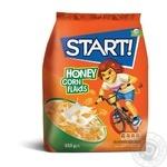 Сухие завтраки Start! зерновые хлопья кукурузные медовые 850г