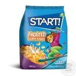Сухие завтраки Start! зерновые хлопья кукурузные глазированные 850г