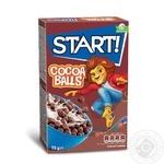 Сухі сніданки Start! кульки з какао 75г