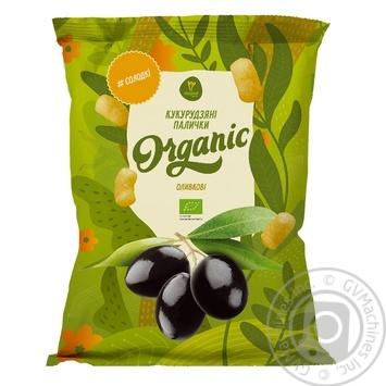 Палочки кукурудзяні Екород оливкові 70г - купить, цены на МегаМаркет - фото 1