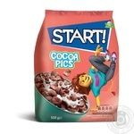 Start! Cocoa Pics dry breakfast 500g