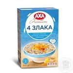 Хлопья AXA 4 злака 500г