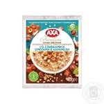 Каша вівсяна АХА Premium миттєвого приготування з вершками та горіхами в карамелі 40г