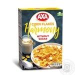 Хлопья кукурузные АХА Harmony без сахара 270г