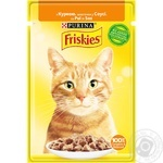 Friskies with chicken pieces in sauce for cats food 85g - buy, prices for Tavria V - image 1