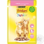 Friskies with chicken pieces in sauce for kittens food 85g - buy, prices for Tavria V - image 1