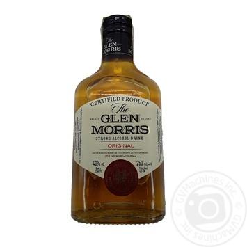 Напій алкогольний Glen Morris Original 40% 0,25л - купити, ціни на МегаМаркет - фото 1