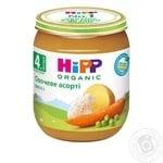 Пюре HiPP овочеве асорті з омега-3 жирними кислотами для дітей з 4 місяців 125г