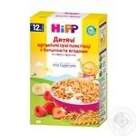 Хлопья детские HiPP с бананом и ягодами органические 200г