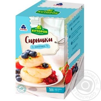 Сырники Хуторок селянский замороженные 500г - купить, цены на Novus - фото 1