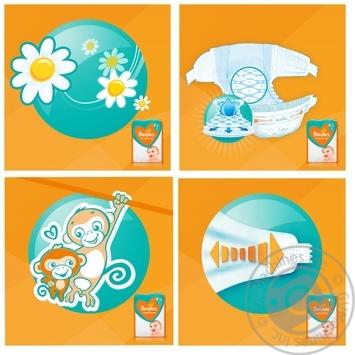 Подгузники Pampers Sleep & Play 5 Junior 11-16кг 58шт - купить, цены на Фуршет - фото 3