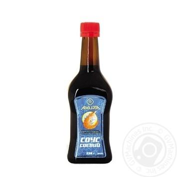 Соус соєвий Akura для морепродуктів 230г - купити, ціни на Novus - фото 1