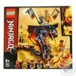 Конструктор LEGO Ninjago Огненный кинжал 463 детали 70674