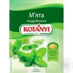 Spices mint Kotanyi chopped 9g