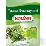 Spices Kotanyi Herbares french 17g packaged