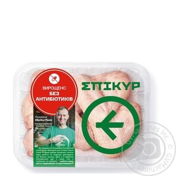 Крыло Epikur цыпленка-бройлера охлажденное весовое (маленький лоток)