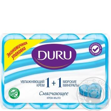 Мило Duru Eco 1+1 Морські мінерали 4*90г