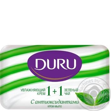 Мыло Duru 1+1 Зелений чай та крем 80г