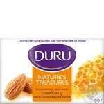 Мило Duru Nature's Treasures з олією мигдалю та медом 90г