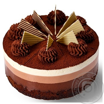 Торт Три шоколада - купить, цены на Novus - фото 2