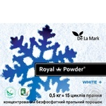 Delamark Royal Powder Laundry detergent for white linen concentrated phosphate-free 500g