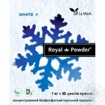 Delamark Royal Powder Laundry detergent for white linen concentrated phosphate-free 1kg