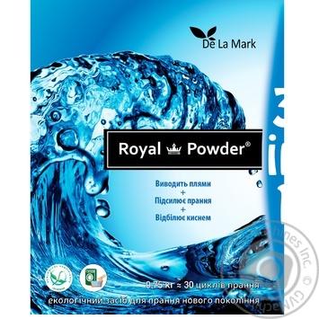 Відбілювач Delamark Royal Powder кисневий 0,75кг - купити, ціни на CітіМаркет - фото 3