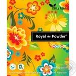 Порошок стиральный Delamark Royal Powder для цветного белья концентрированный бесфосфатный 1кг