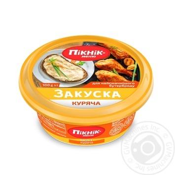 Picnic Menu Zakuska Chicken Spread - buy, prices for MegaMarket - image 1