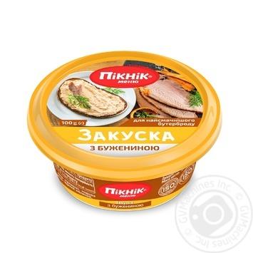 Закуска Пикник с бужениной 100г - купить, цены на Восторг - фото 1