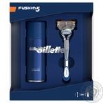 Подарочный набор Gillette бритва и гель для бритья Ultra Sensitive 75мл
