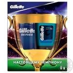 Подарочный набор Gillette для чувствительной кожи Пена для бритья 100 мл + Гель после бритья