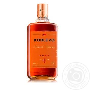 Koblevo 4 stars brandy 40% 0,5l