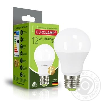 Лампа Eurolamp LED ЕКО A60 12W 4000K E27 - купить, цены на Фуршет - фото 4